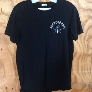 Abecrombie navy blue t shirt
